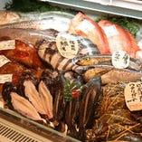 ◆日本海が誇る新鮮な恵み...