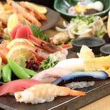 にぎり寿司付きコース3,990円~