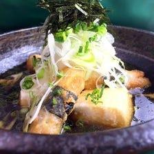 寿司屋の常識を超える一品料理