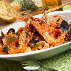 お食事は専用のコースをご用意 イタリアンレストランからお届け