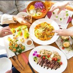 テーブルごとに大皿でご提供するスタイルもご案内できます