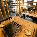 【2~8名様/テーブル席】使い勝手の良い宴会スペースは、5名様以上で独占もOK