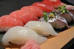 三崎まぐろ&魚寿司(まぐろ5・魚5の計10貫)