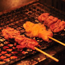 【鶏串】三本盛り