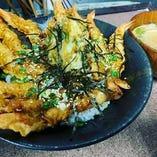 いっぱい海老天丼