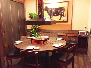 備長七輪焼肉 牛蔵(ぎゅうくら)  店内の画像
