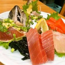 木更津の新鮮なお魚が味わえます!