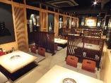 1階 琉球畳のお座敷 32名様宴会可能