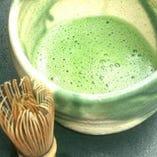 浅川園のお抹茶