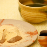 わらびもちと浅川園のお抹茶セット