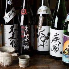 地元滋賀の地酒も揃う日本酒専門店