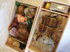 うなとろ弁当 (自然薯とろろ付き)
