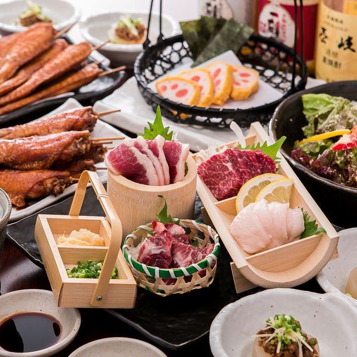 出張や観光にも人気の九州料理が終結