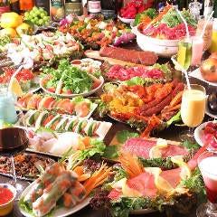 炭焼きタンドールと55種食べ放題 シルザナ 市ヶ谷店