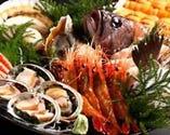 【3時間飲放付個室宴席】 圧倒的コスパの絶品魚介付宴席3,980円(税抜)~