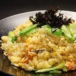 道産・銀鮭とレタスの炒飯