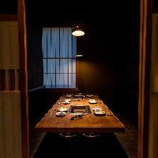 接待や記念日に最適な完全個室席