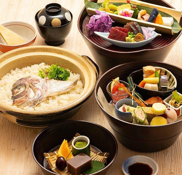 お魚以外のお料理も豊富です