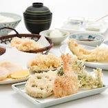 本格的な江戸前天ぷらをお楽しみください。