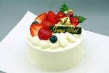 2011年のクリスマスケーキ ご予約承り中(11/1~)