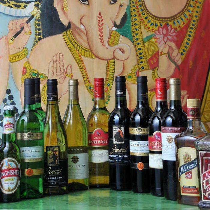 合わせてお酒も楽しめます。