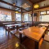 ご宴会なら鳥丈成田店へ!最大60名まで収容できる大宴会場完備!