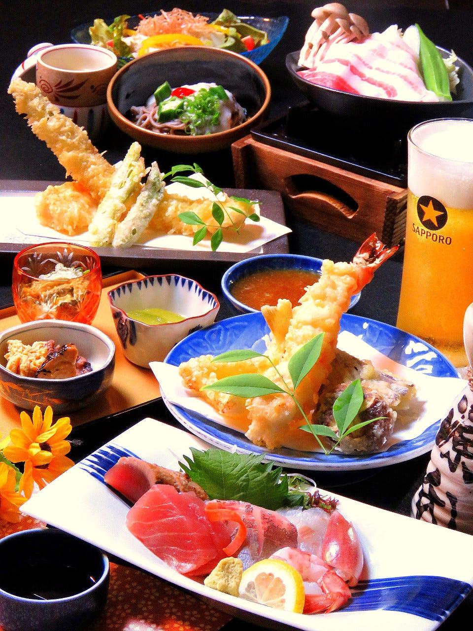 天ぷらレストラン 楽楽亭