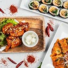 韓国料理の数々をマッコリと共に!