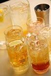 焼酎などアルコール類も豊富に取り揃えております!!