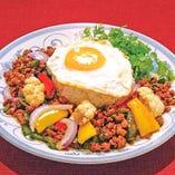 鶏挽肉のガパオライス