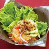 ヤム・ウン・セン ~タイ風春雨サラダ~