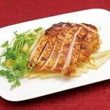 国産豚ロース肉のタンドリーグリル