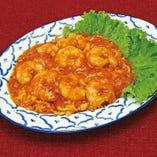 海老のシンガポールチリ炒め