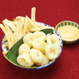 カラマリ&チップス クリーミーホットソース