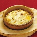 イエローミートカレーのポテトチーズ焼き