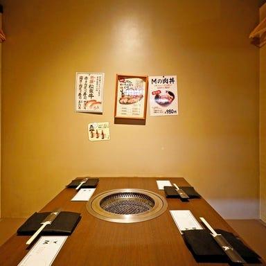 Mの焼肉 福島本店 店内の画像