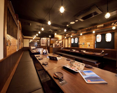山内農場 広島新天地店 店内の画像