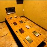 掘りごたつの個室空間【4~9名】