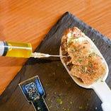 牡蠣のワンスプーン