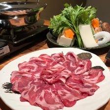 お刺身盛り合わせ&〆まで楽しめる!とろけるような甘味の糸島豚しゃぶしゃぶコース 6,000円