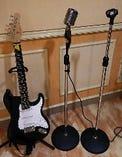 ギターやマイクスタンドも無料!