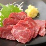 熊本県産馬肉 もも(赤身)
