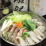 海鮮出汁香る寄せ鍋