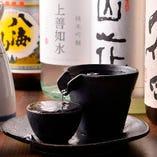 お料理によく合う銘酒も種類豊富にご用意しております。
