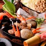 これからの季節に最適なお鍋!鮮魚のお出汁が絶品です。