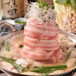 インパクト大!お肉を使用したお鍋も大人気です。
