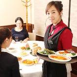 [明るい笑顔の接客] 中国人スタッフが明るく丁寧におもてなし♪