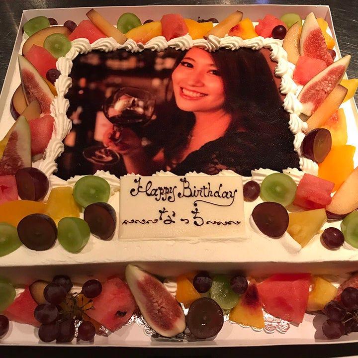 フォトケーキで本気のお祝い!!