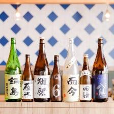 全国から取り揃えた日本酒