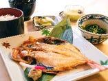 (夕食)焼魚御膳